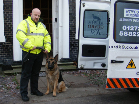 Security Dog & Handler